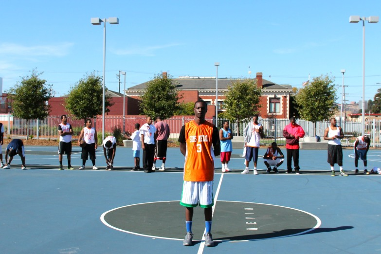 Nevin Park 3-on-3 tournament http://richmondconfidential.org/2011/10/26/nevin-park-3-on-3-tournament-draws-healthy-competition/