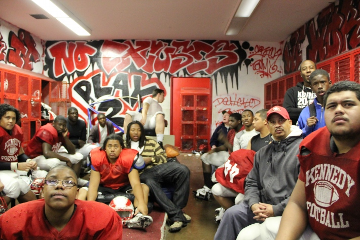 Kennedy Eagles gear up for playoff game http://richmondconfidential.org/2011/11/10/kennedy-eagles-find-their-wings/